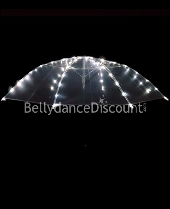 Umbrella with white LED