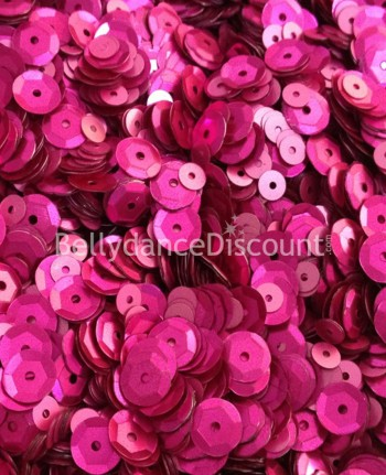 Pack of 1000 pink sew-on mini coins
