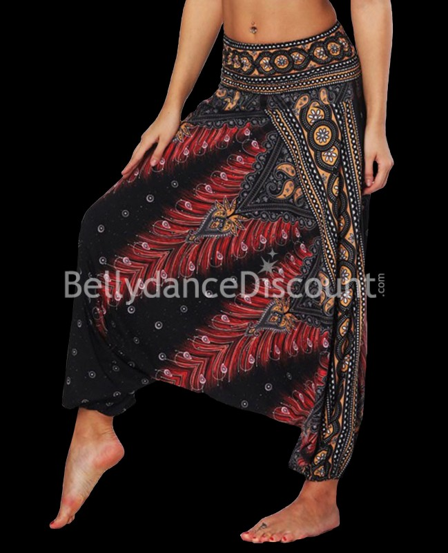 Black Indian dance pants
