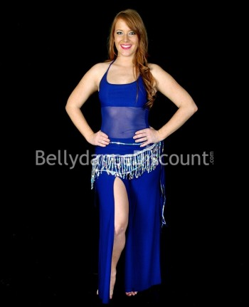 3-piece dark blue outfit for dance classes