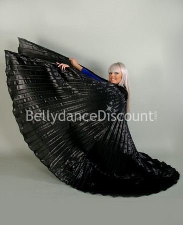 Black opaque belly dance Isis wings