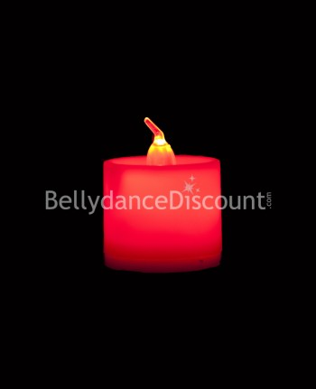 Red electric  Belly dance and Bollywood candle