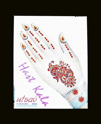"Belly dance ""Hand"" tattoo"