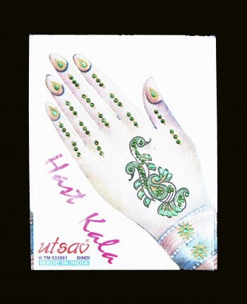 Orientalisches ''Hand'' Tattoo