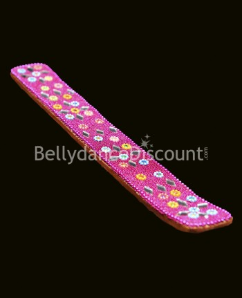 Fuchsia Indian incense holder