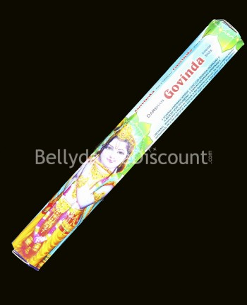 Pack of 20 «  Govinda » Indian incense at a discounted price !