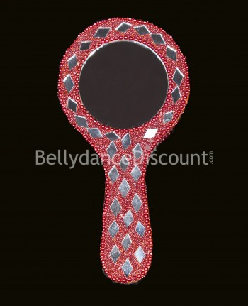 Red Indian mirror