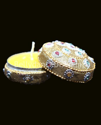 Indian jewelry box and « Sandalwood » scented candle