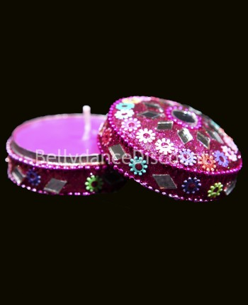 Indian jewelry box and « Patchouli » scented candle