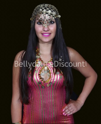 Belly dance beaded headpiece