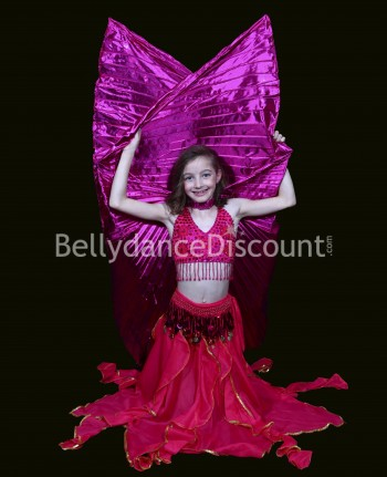 Fuchsia belly dance...