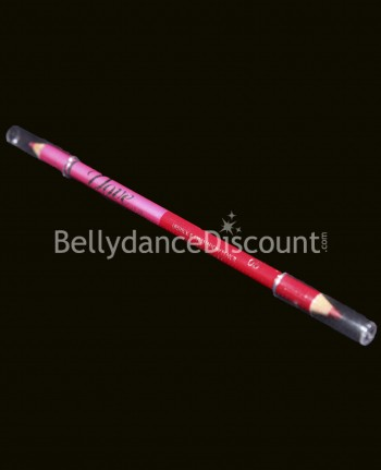 Makeup pencil pink + red