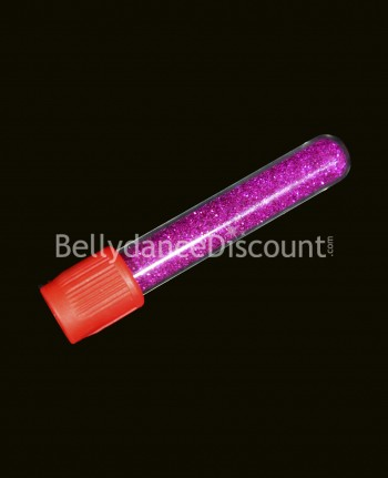 Pailletten Tube in Fuchsia