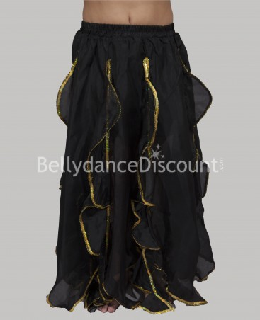 Black belly dance  children's skirt