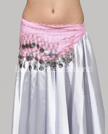 Light pink belly dance  children's belt