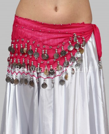 Fuchsia belly dance  children's belt