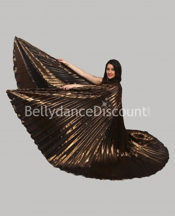 Brown opaque belly dance Isis wings