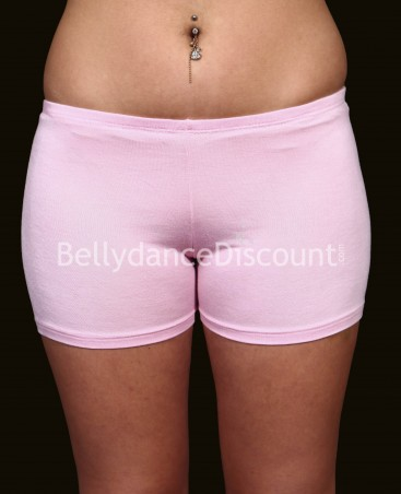 Light pink oriental dance shorty