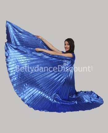 Dark blue opaque belly dance Isis wings