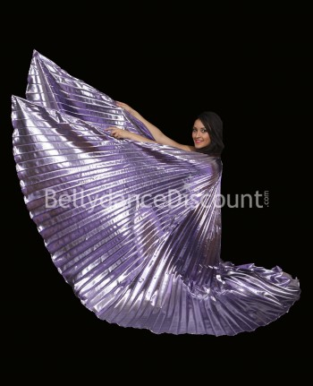 Mauve opaque belly dance Isis wings