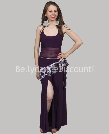 3-piece purple outfit for dance classes