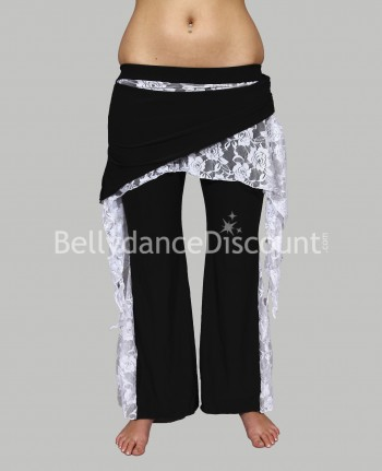 Dance Warm-Up pants white