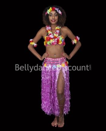 Light pink Polynesian costume