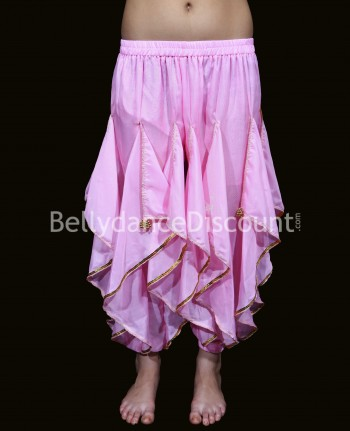 Oriental and Bollywood dance sarouel for girls light pink