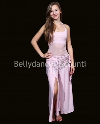 Girl's dance class outfit 3 pieces light pink