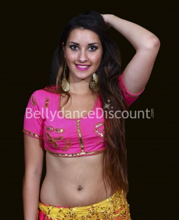 Bollywood dance top
