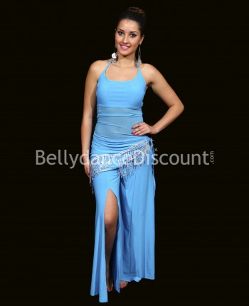 3-piece sky blue outfit for dance classes