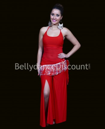 3-piece red outfit for dance classes