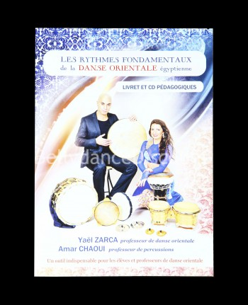 Booklet + CD with essential belly dance tunes - French