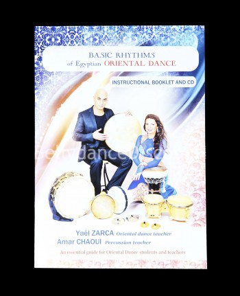 Booklet + CD with essential belly dance tunes - English