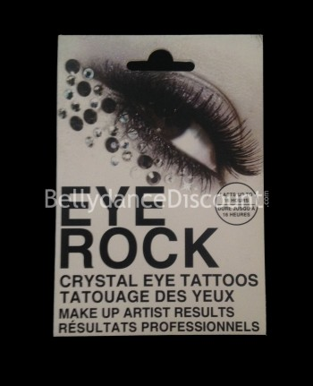 Eyes tattoo with strass N°2