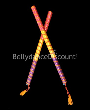 Set of 2 Bollywood dance sticks