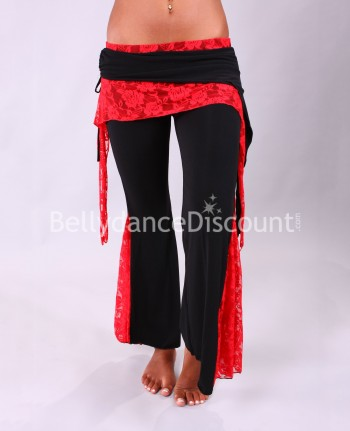 Dance Warm-Up pants red