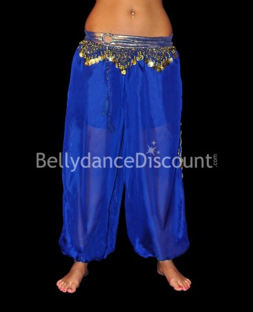 Large Bellydance pants dark blue