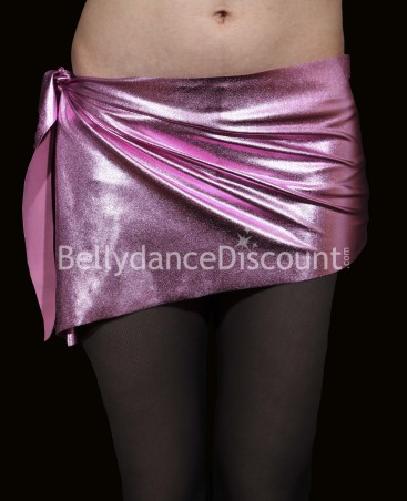 Metallic Bellydance belt light pink