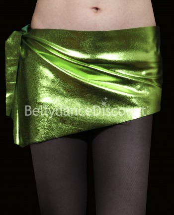 Metallic Bellydance belt light green