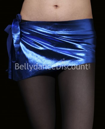 Metallic Bellydance belt dark blue