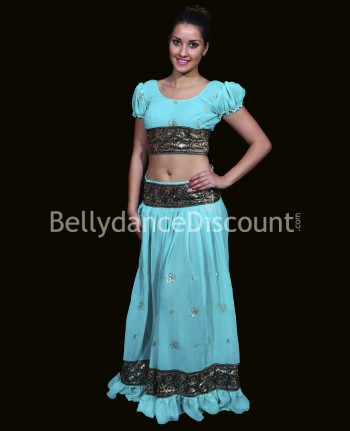 Costume Bollywood verde