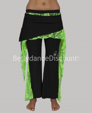 Dance Warm-Up pants green