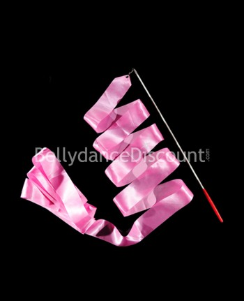 Bellydance and Rhythmic Gymnastics ribbon light pink