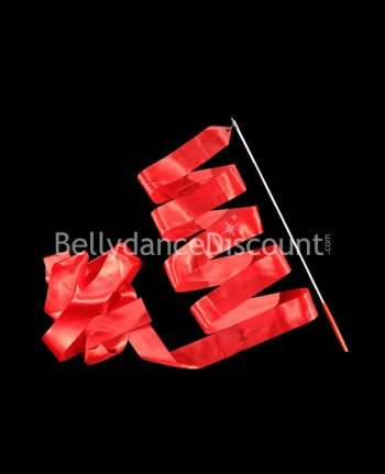Bellydance and Rhythmic Gymnastics ribbon red