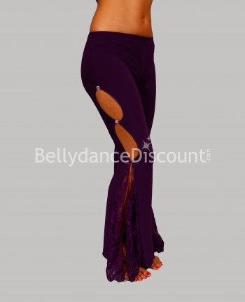Dance Warm-Up pants purple