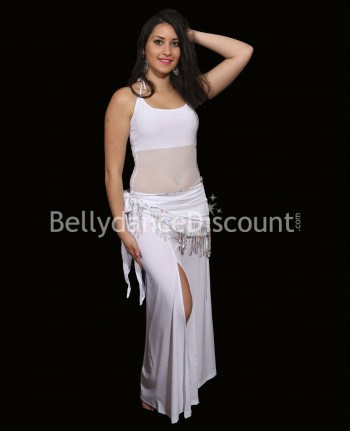 3-piece white outfit for dance classes