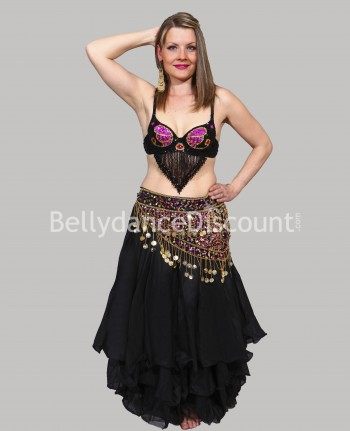 Black belly dance skirt...