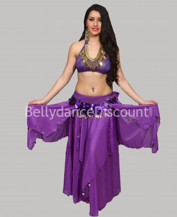Purple belly dance skirt...