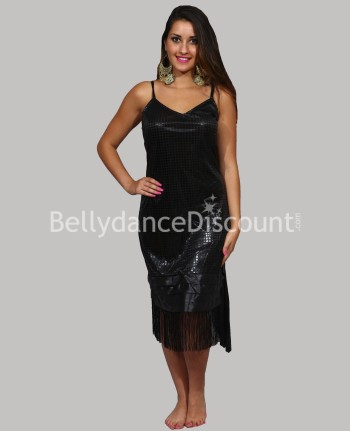 Burlesque cabaret dance dress black